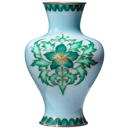 Japanese Cloisonne Vase by Tamura (1 of 5)