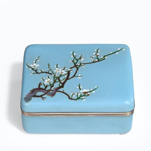 A Meiji Period Cloisonné Box (1 of 4)