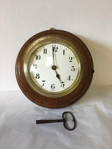 Clock Bulkhead c.1900 (1 of 11)