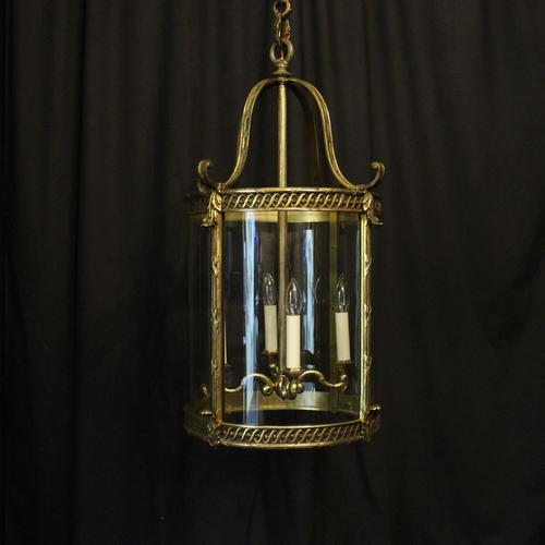 French Bronze Four Light Antique Lantern (1 of 11)