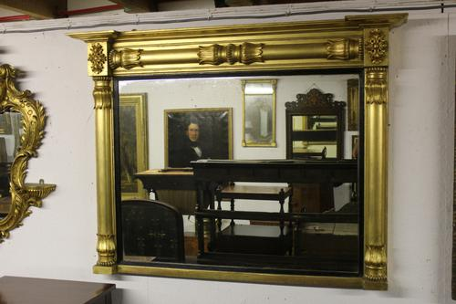 Gilt Overmantle Mirror (1 of 5)
