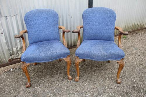 Pair of Armchairs c.1900 (1 of 5)