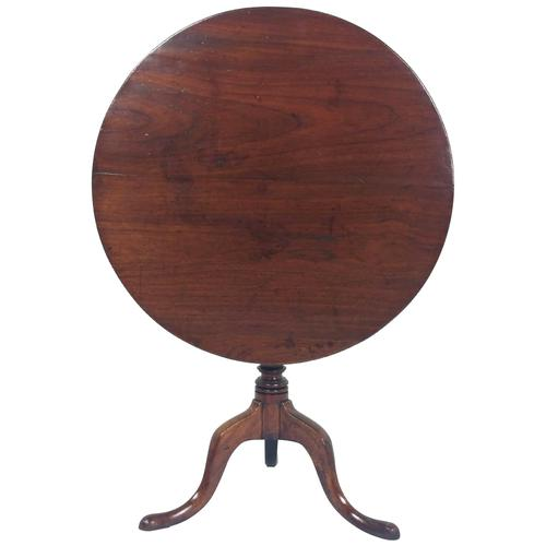 18th Century English Fruitwood Tilt Top Table (1 of 12)