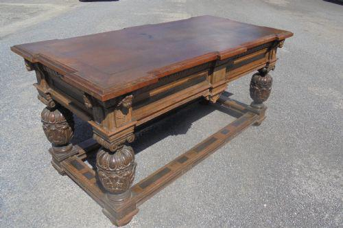 Late 17th Century Oak Centre Table (1 of 6)