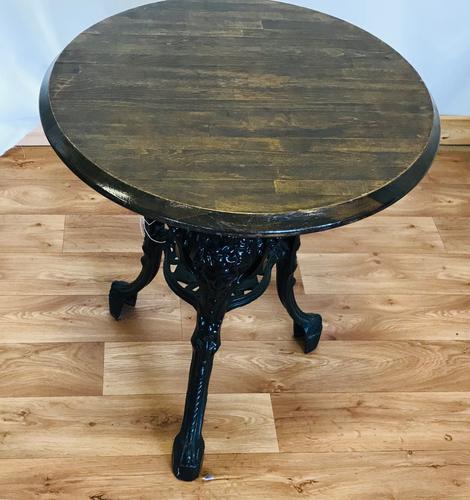 Cast Iron Pub Table (1 of 6)