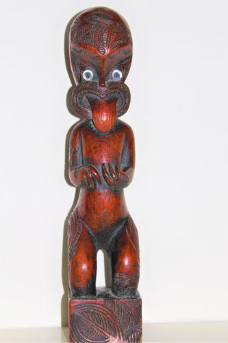 Maori Tribal Southsea Islands Hardwood Figure (1 of 12)