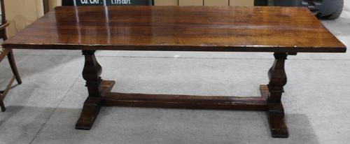 1960s Large Oak Refectory Table Brights of Nettlebed (1 of 3)
