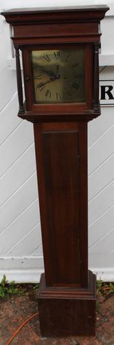 1931 Brass Face Small Mahogany Grandmother Clock. 8 Day - Harold Deacon (1 of 3)