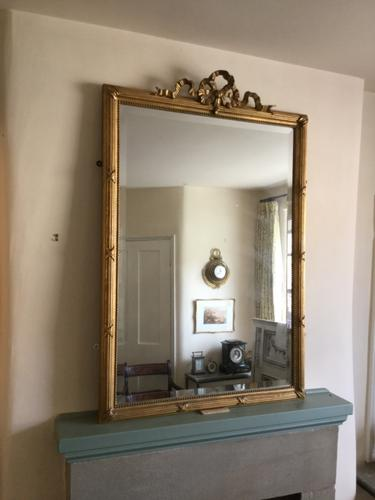 19th Century Gilt Wall Mirror (1 of 3)