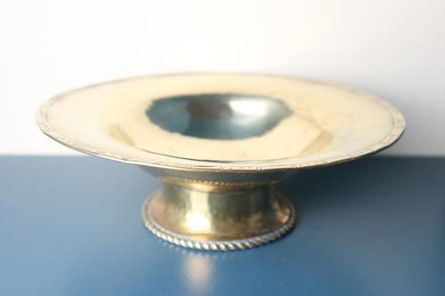 Hugh Wallis Hand Hammered Brass Bowl / Taza C.1912 (1 of 14)