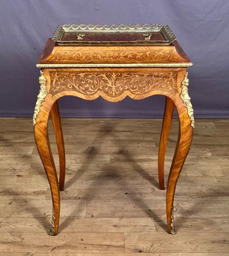 French Kingwood Marquetry Inlaid Jardinière / Wine Cooler (1 of 10)
