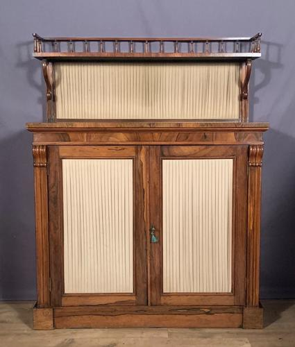 Pretty Small Proportioned Rosewood William 1V Chiffonier (1 of 7)