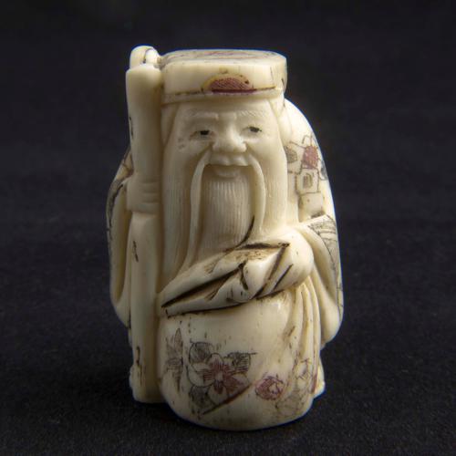 Japanese Carved Bone Netsuke 3206 La180382 Loveantiques Com