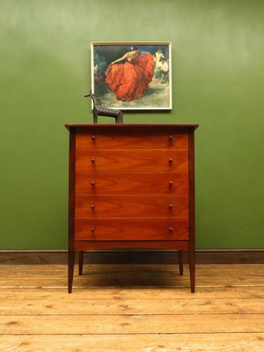 Vintage Danish Style Chest of Drawers, 1960s Mid Century Chest of Drawers (1 of 11)