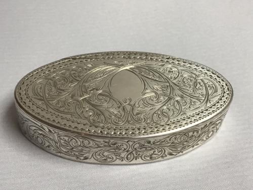 Georgian Solid Silver Snuff Box (1 of 7)