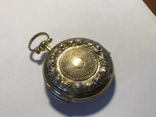 Excellent Silver Gilt Vinaigrette (1 of 7)