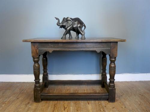 Antique Oak Communion Table (1 of 4)