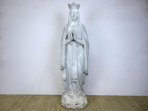 3/4 Lifesize Statue of the Virgin Mary (1 of 5)