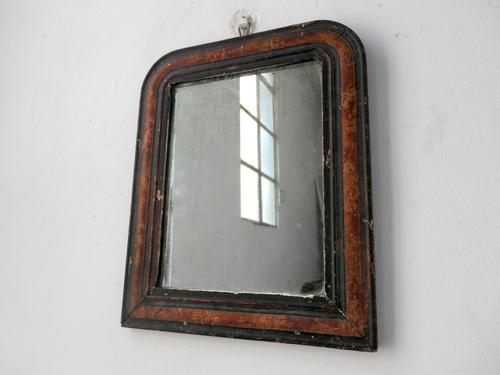 Small Louis Philippe Faux Marble Mirror (1 of 5)