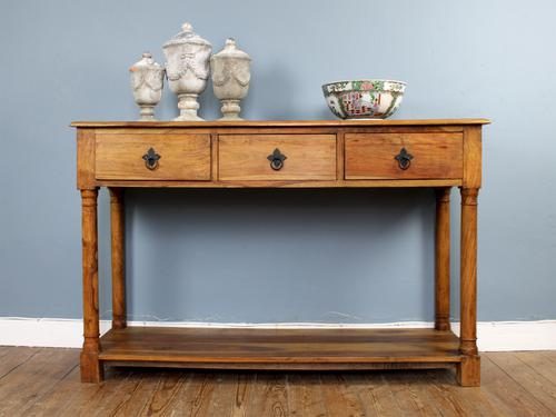 Outstanding Olive Wood Console Table (1 of 6)