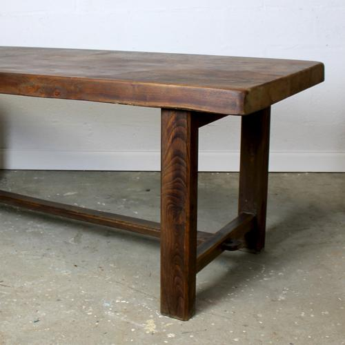 Reclaimed Elm Refectory Table (1 of 4)