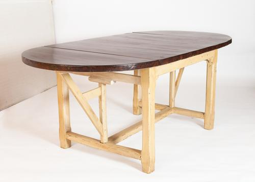 18th Century Swiss Brewer Table with Original Polychromy (1 of 5)