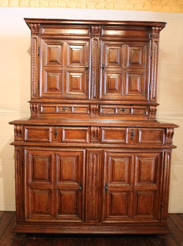 Renaissance End 16th Century French Cabinet in Walnut (1 of 7)