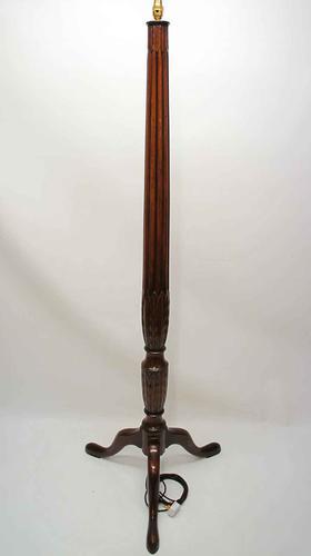 Edwardian Mahogany  Standard Lamp  - William IV Style (1 of 12)
