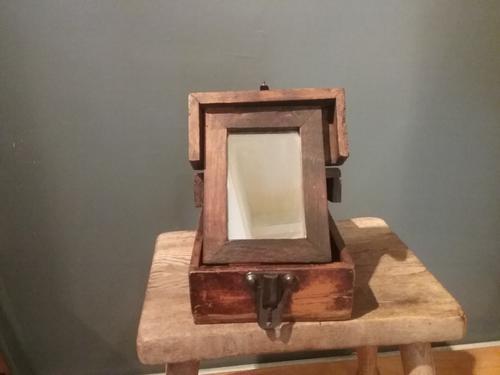 Wooden Travel Mirror (1 of 4)