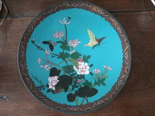 Japanese Cloisonne Plate /Charger (1 of 3)