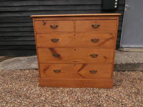 Outstanding 19th Century Pine Large Chest of Drawers (1 of 12)
