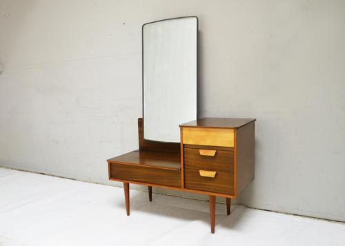 1960s English Chest of Drawers with Mirror (1 of 4)