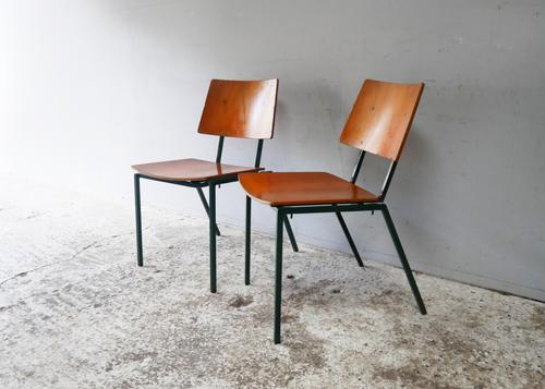 1970s Danish Stacking Chairs by Mh Stalmobler A/S (1 of 9)
