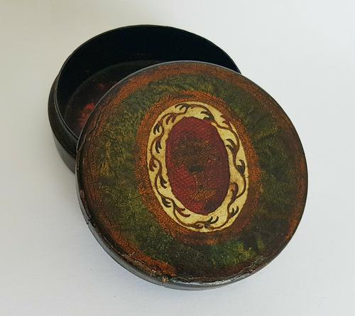 Rare Unique French Louis XV 18th Century Vernis Martin Hand Painted Snuff Box c.1770 (1 of 12)