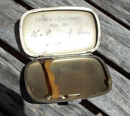 Stunning Edwardian William Neale Solid Silver Oval Cigarette Case (1 of 11)