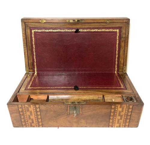 Antique Victorian Tunbridge Ware Writing Slope Box (1 of 17)