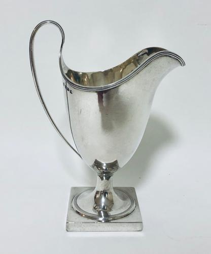 Large Antique Victorian Solid Sterling Silver Cream Milk Jug (1 of 10)