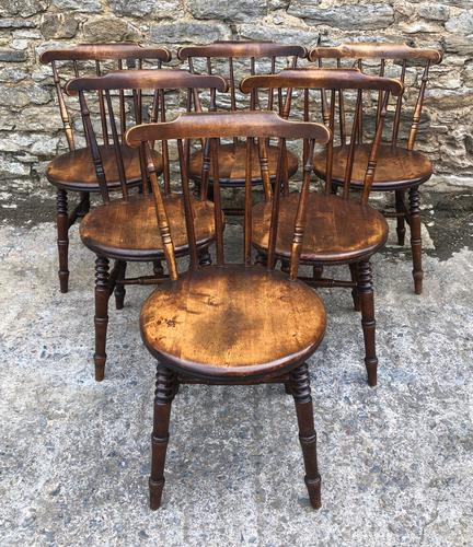 Set of 6 Antique Penny Chairs (1 of 11)