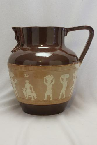 Doulton Stoneware Egyptian Jug (1 of 6)