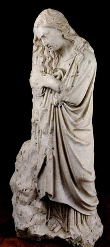 A Fabulously RAre Late 16th / Early 17th Century Marble Penitent Mary Magdalene (1 of 15)