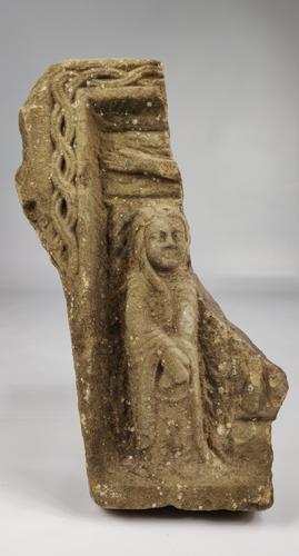 Medieval Romanesque Limestone Fragment (1 of 7)
