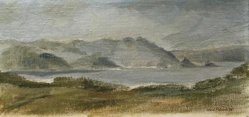 Original Oil Painting 'Loch Awe' by Helmut Petzsch, Signed & Dated 1978 (1 of 2)