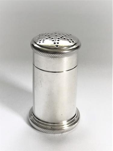 Quality Art Deco Silver Pepper Pot (1 of 5)