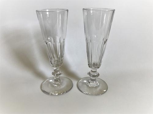 Handsome Pair of French Champagne Flutes (1 of 6)