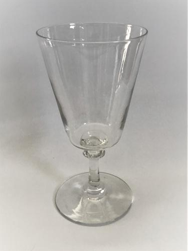 French Bucket Bowl Wine Goblet (1 of 5)