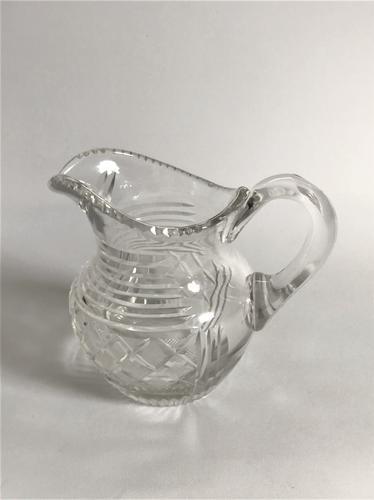 A Victorian Cut Glass Cream Jug (1 of 6)