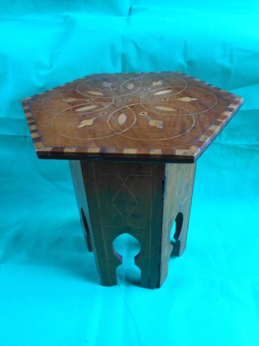 Small Middle-Eastern Side Table (1 of 3)