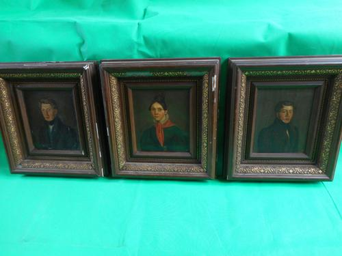 Three  Early 19th  Century Portraits of the Lippen Family (1 of 6)