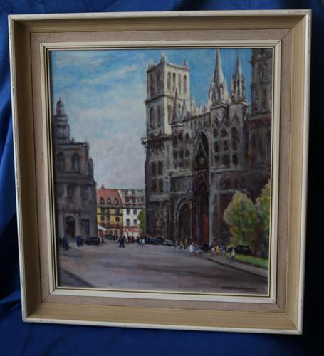 Rouen Cathedral by Walter Washbrooke (1 of 6)