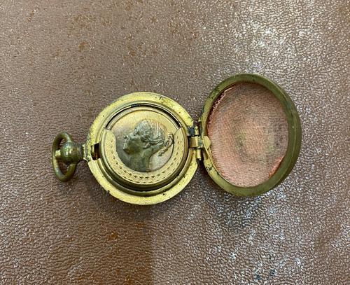 Brass Sovereign Case / Holder c.1890 (1 of 3)